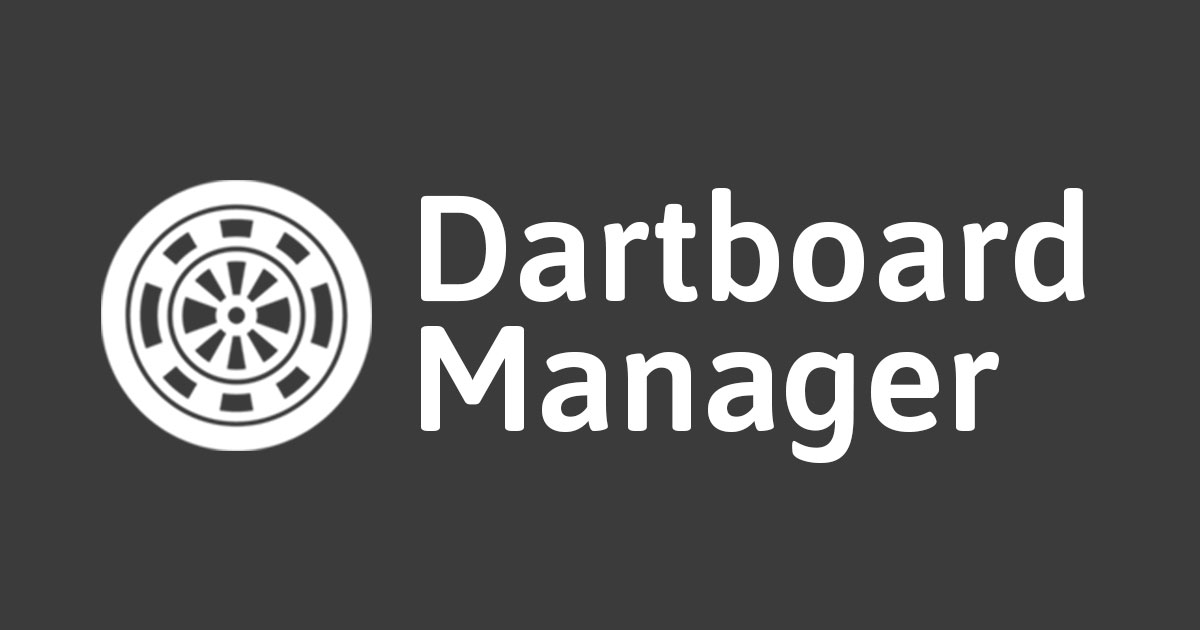 Dartboard Manager