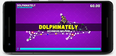 Routz Dolphin on Phone